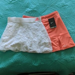 2  Real cute tennis skirts